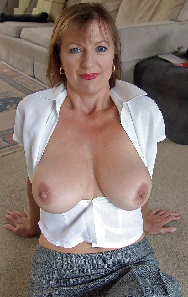 Big tits granma