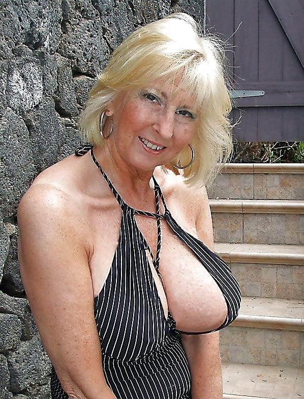big boob grandma