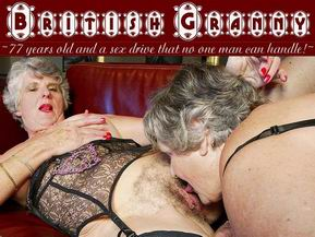 A cuddly 77 year old grandma with natural 42DD breasts and a soft cuddly body to match!